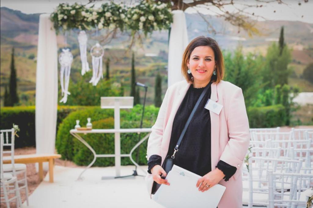 Cristina Cabello Wedding planner tocados y eventos Málaga Ciudad Real